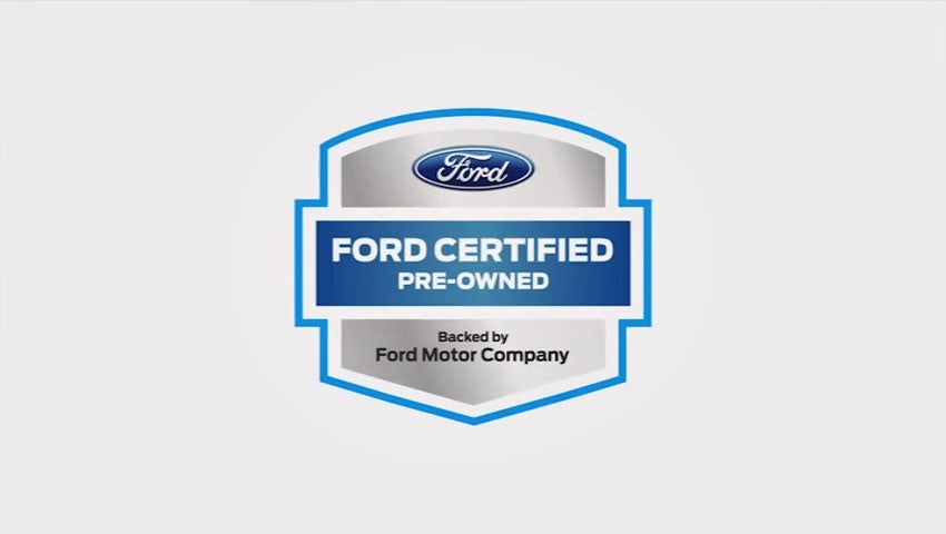 Ford Certified Pre Owned >> Certified Pre Owned Overview